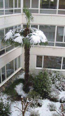 Hotel Belvedere Locarno: Interior courtyard