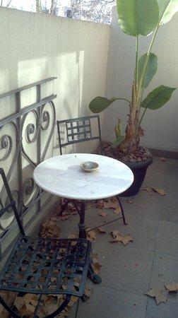 Nuss Buenos Aires: varanda do quarto