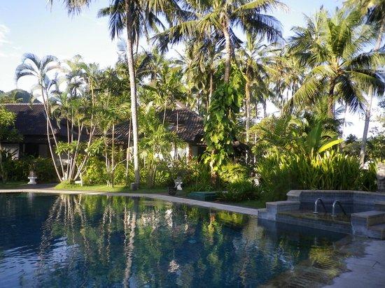 Candi Beach Resort & Spa: piscine jardin