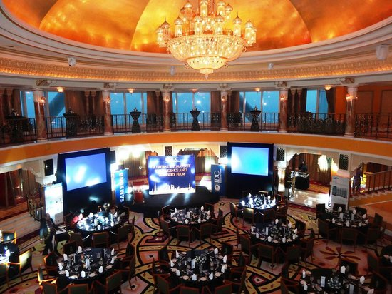 Burj Al Arab Jumeirah: Grand ball room