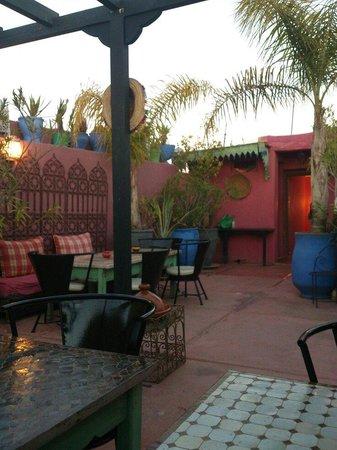 Riad Numero 10: Jolie terrasse...