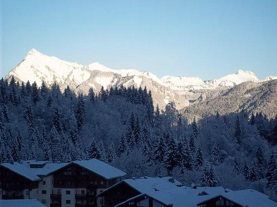 Résidence Odalys Le Buet : neige et soleil !