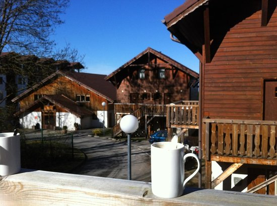 Résidence Odalys Les Chalets d'Evian : pause café 022014
