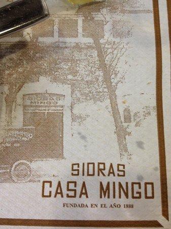 Casa Mingo : салфетка