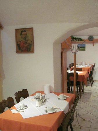 Pension Haus Wendelstein : Breakfast room