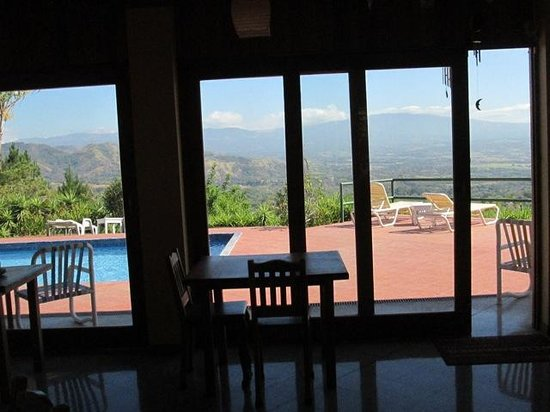 Vista Atenas Bed & Breakfast: view from dining room
