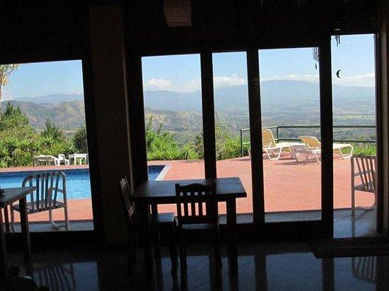Vista Atenas Bed & Breakfast : view from dining room