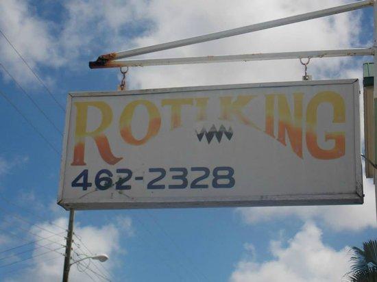 Roti King : Sign