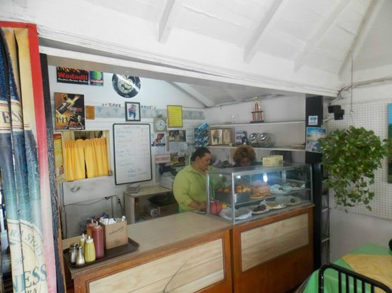 Roti King: Counter for odering