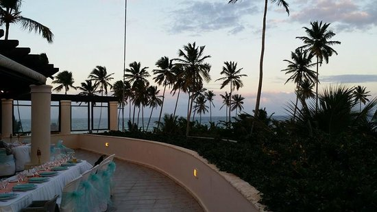 Dreams Punta Cana Resort Spa Bordeaux Terrace For Our Reception