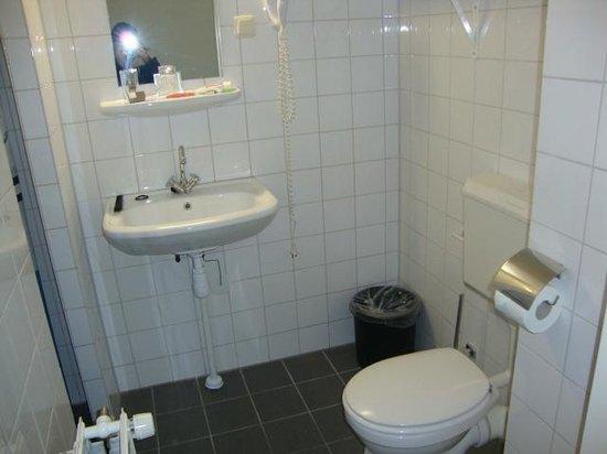 Maritime Hotel Rotterdam : Baño con secador yducha