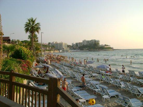 Gultepe Apartments : Пляж