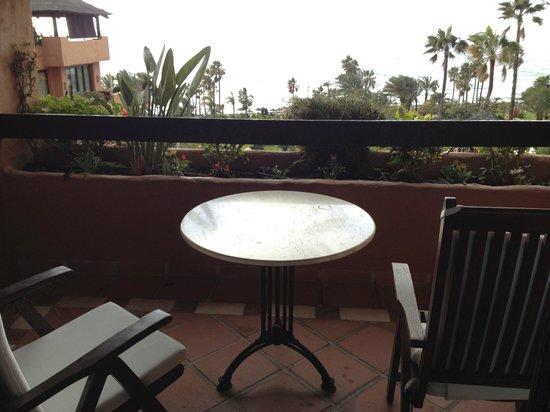 Kempinski Hotel Bahía: Balcony of room 633