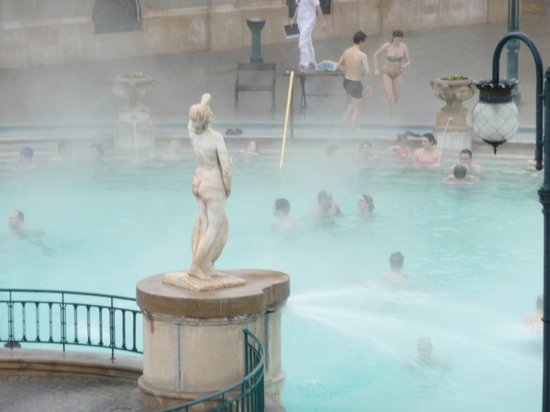 Széchenyi Baths and Pool : Szechenyi Baths Budapest