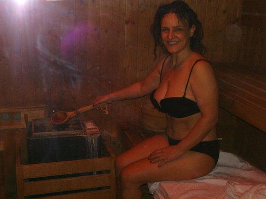 Grand Hotel Terme: La sauna