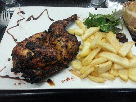Restaurant Mc Grill: Poulet  a la portugaise