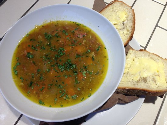 Old Salty's: Ham Hough Soup