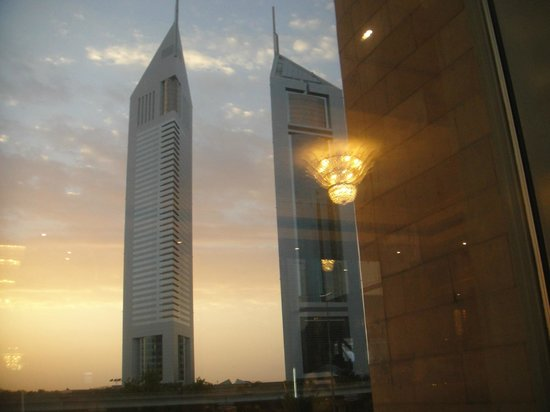 Crowne Plaza Hotel Dubai: view from hotel
