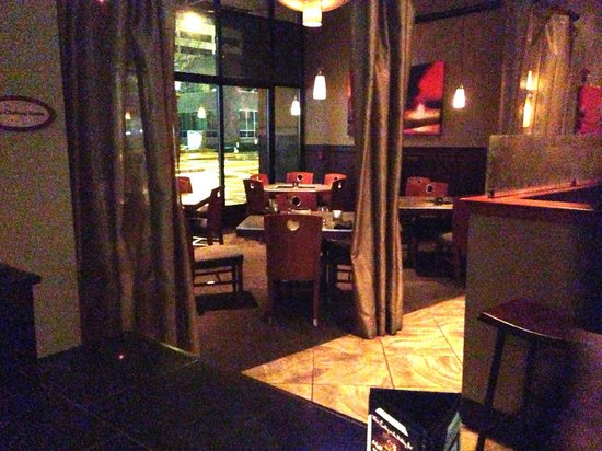 The Melting Pot - Bellevue: I wasn't alowed to sit here unless I had a reservation!