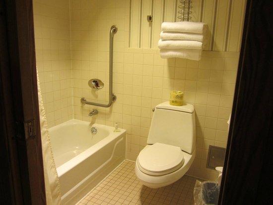 Buckhorn Lake State Resort: My Bathroom excellent water pressure and HOT WATER