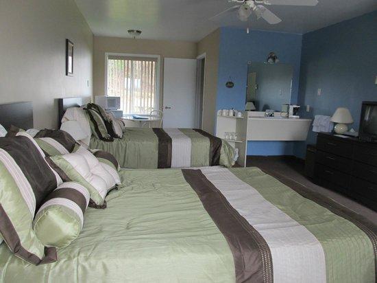 Motel Montagnard: Chambres à 2 lits doubles
