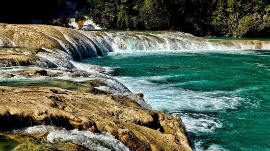 Cascada de agua azul picture of cascadas de agua azul for Cascadas de agua