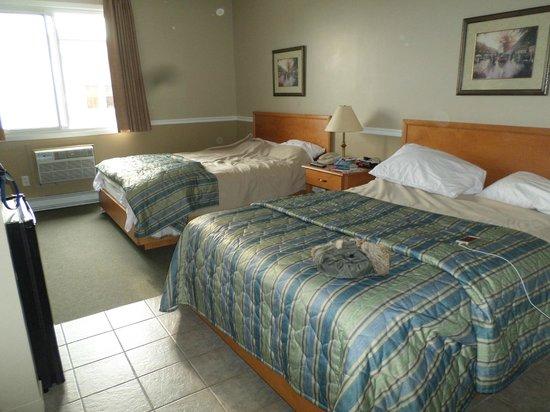 Le Roberval: les lits