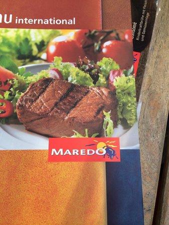 MAREDO Steakhouse Berlin Kurfürstendamm: menu