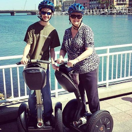 Magic Carpet Glide: A Segway is the best way to see Tampa's Riverfront