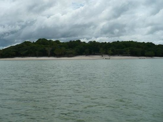 Parintins, AM: Praia de Itaracuera