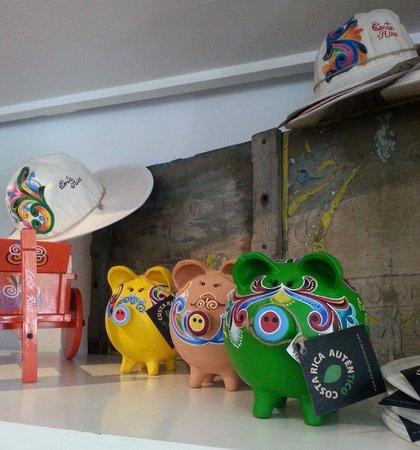 Souvenir Museum: Costa Rican Piggy Banks!
