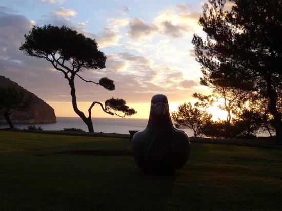 Hotel Can Simoneta: Sonnenaufgang