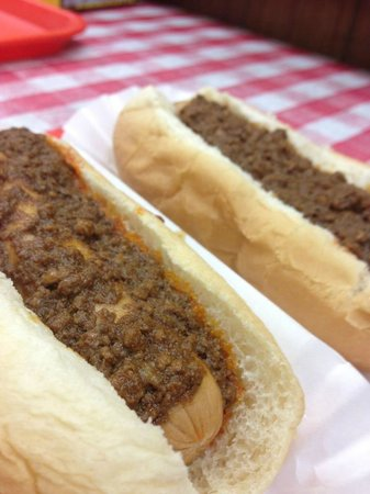 Jim's Texas Hots: A Texas Hot...looks like its missing the onion and mustard though :P