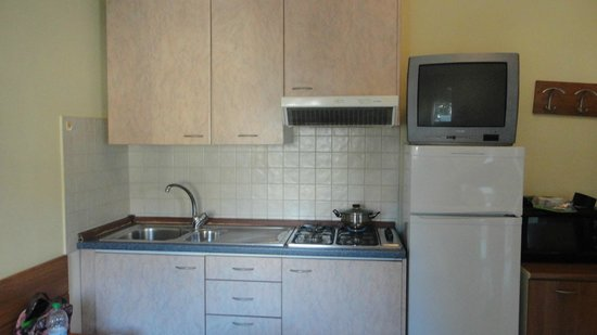 Lugano Residence : kitchen annex