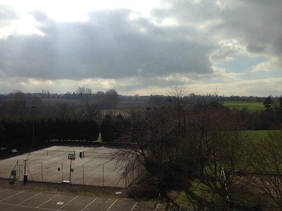 Mercure Maidstone Great Danes Hotel: view from window