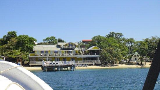 The Beach House: Beach House from Half Moon Bay