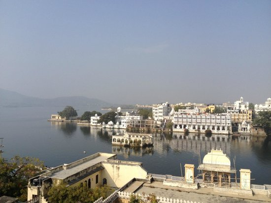 Mewar Haveli : rooftop restaurant view