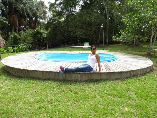 Tangarana  Ecolodge: Piscina dentro del lodge