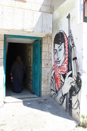 Green Olive Tours : Aida Refugee camp in Bethlehem