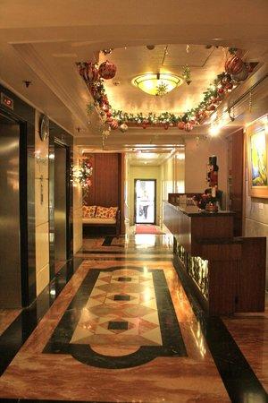 Perla Mansion Makati: Reception