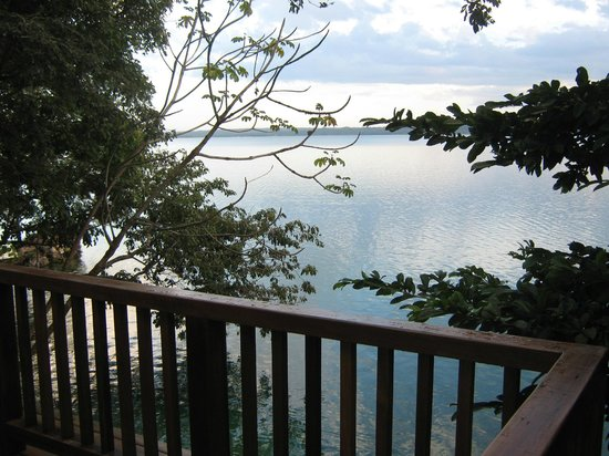 Bolontiku Hotel Boutique: vista desde el balcon