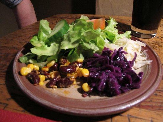 Schnitzelbank: salat