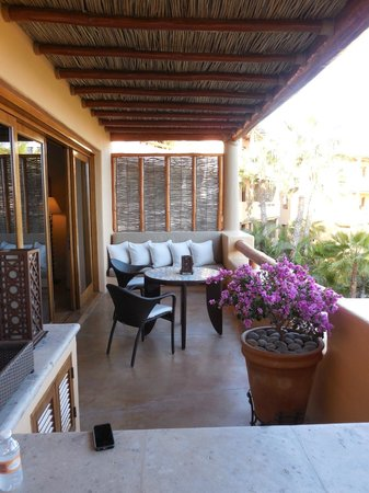 Esperanza - An Auberge Resort: View of our casita porch