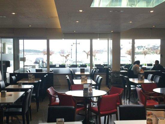 Hotel Chiqui: Cafeteria