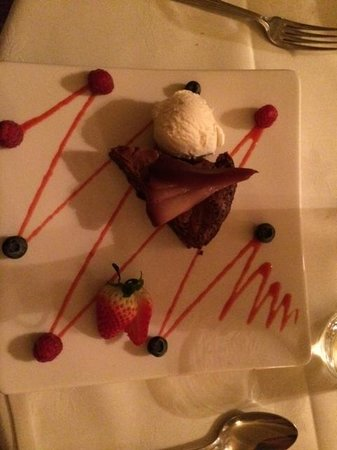 The Eltermere Inn: Chocolate torte