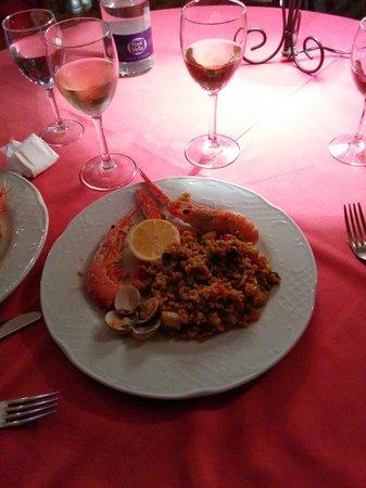 Restaurant Koxkera: paella di mare