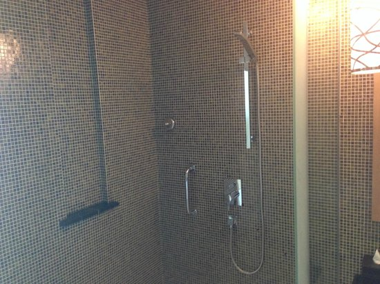 Marriott Hotel Al Jaddaf, Dubai: Shower