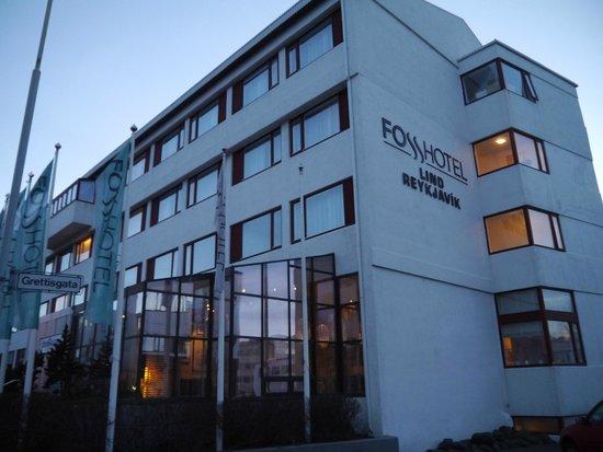 Fosshotel Lind : excellent hotel