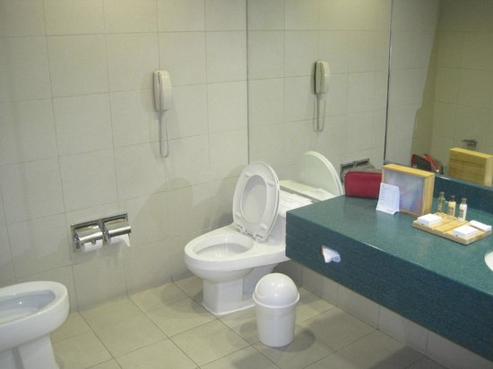 Delfines Hotel & Convention Center : Clean toilets