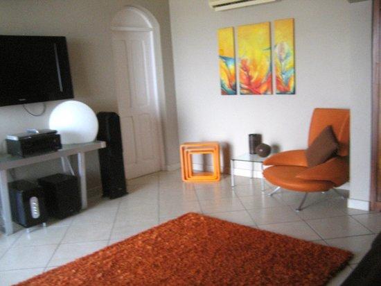 Hotel Chantel: penthouse bedroom